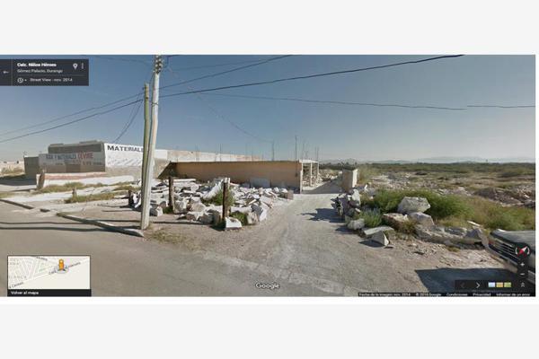 Foto de terreno habitacional en venta en s/n , mezquital, gómez palacio, durango, 5951060 No. 05