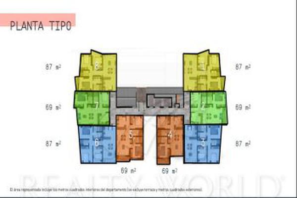 Foto de departamento en venta en s/n , monterrey centro, monterrey, nuevo león, 5863201 No. 01