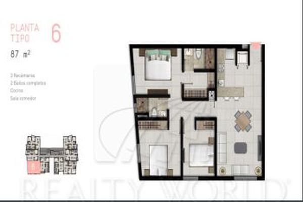 Foto de departamento en venta en s/n , monterrey centro, monterrey, nuevo león, 5868434 No. 01