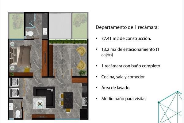 Foto de departamento en venta en s/n , montes de ame, mérida, yucatán, 9987186 No. 05