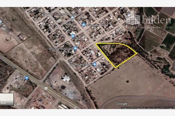 Foto de terreno habitacional en venta en s/n , morelos, durango, durango, 10193278 No. 01