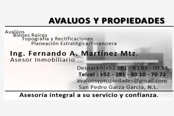 Foto de terreno habitacional en venta en s/n , pablo livas, guadalupe, nuevo león, 10166148 No. 07