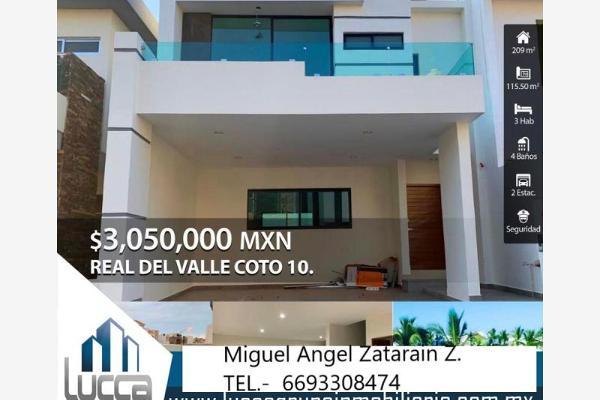 Foto de casa en venta en s/n , real del valle, mazatlán, sinaloa, 9965490 No. 01