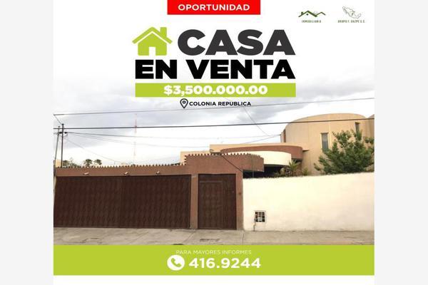 Foto de casa en venta en s/n , república oriente, saltillo, coahuila de zaragoza, 9962933 No. 01