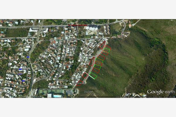 Foto de terreno habitacional en venta en s/n , residencial chipinque 1 sector, san pedro garza garcía, nuevo león, 10153276 No. 06