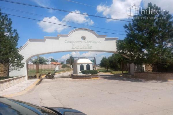 Foto de terreno habitacional en venta en s/n , residencial la salle, durango, durango, 10152812 No. 01