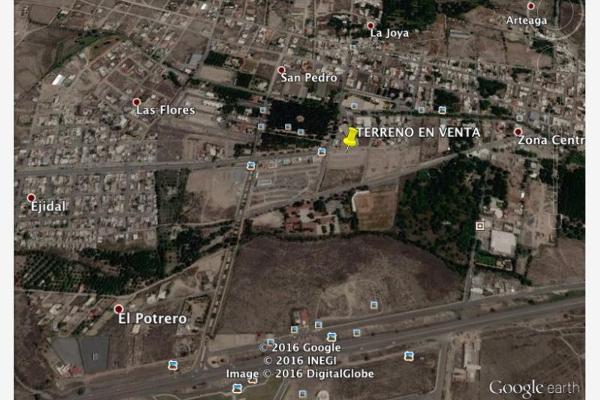 Foto de terreno habitacional en venta en s/n , arteaga centro, arteaga, coahuila de zaragoza, 6124151 No. 02