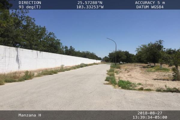 Foto de terreno habitacional en venta en s/n , san armando, torreón, coahuila de zaragoza, 12160472 No. 03