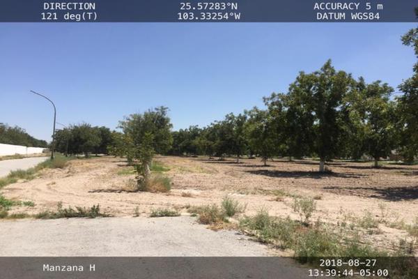 Foto de terreno habitacional en venta en s/n , san armando, torreón, coahuila de zaragoza, 12162392 No. 01