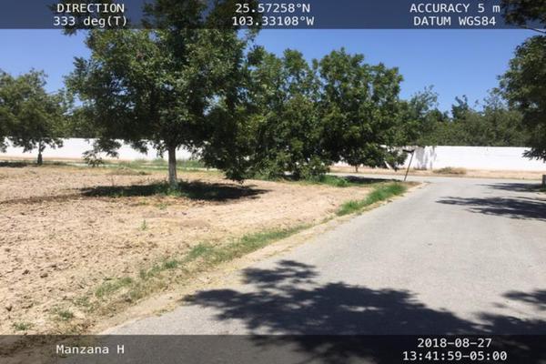 Foto de terreno habitacional en venta en s/n , san armando, torreón, coahuila de zaragoza, 9955407 No. 03