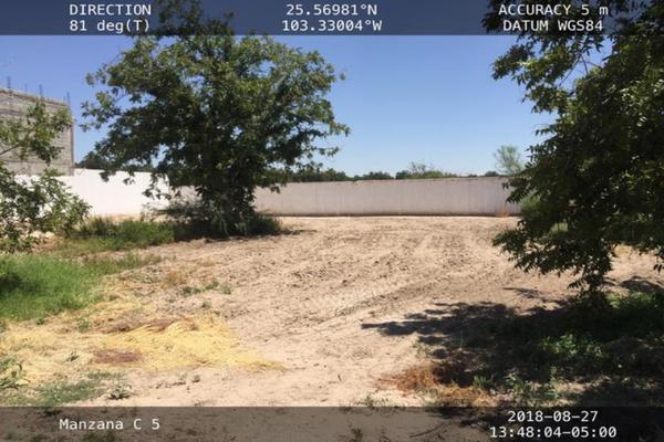 Foto de terreno habitacional en venta en s/n , san armando, torreón, coahuila de zaragoza, 9998623 No. 03