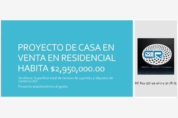 Foto de casa en venta en s/n , san jerónimo, saltillo, coahuila de zaragoza, 9979756 No. 01