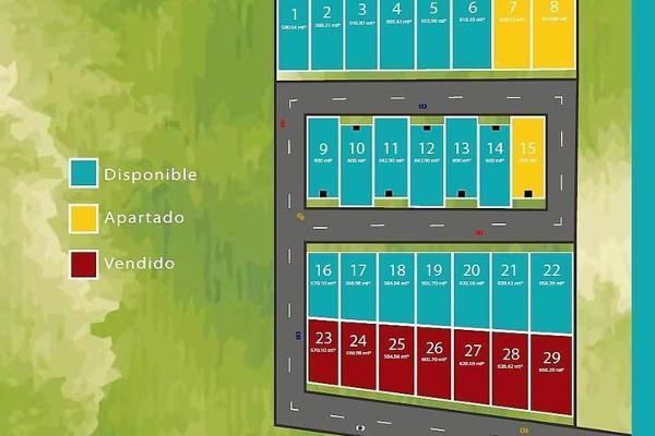 Foto de terreno habitacional en venta en s/n , temozon norte, mérida, yucatán, 9982025 No. 02