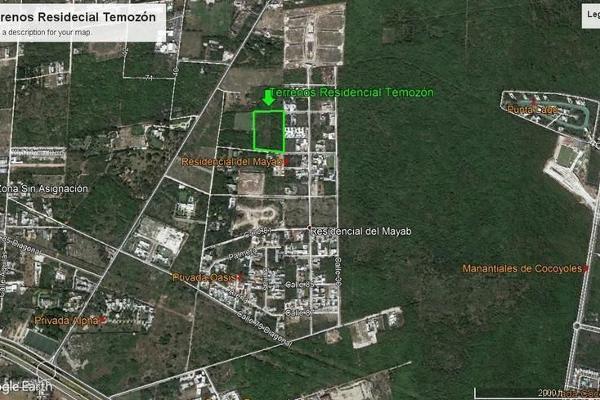 Foto de terreno habitacional en venta en s/n , temozon norte, mérida, yucatán, 9982025 No. 04