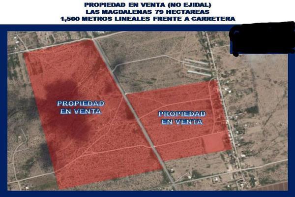 Foto de terreno habitacional en venta en s/n , tierra blanca, gómez palacio, durango, 18185993 No. 01