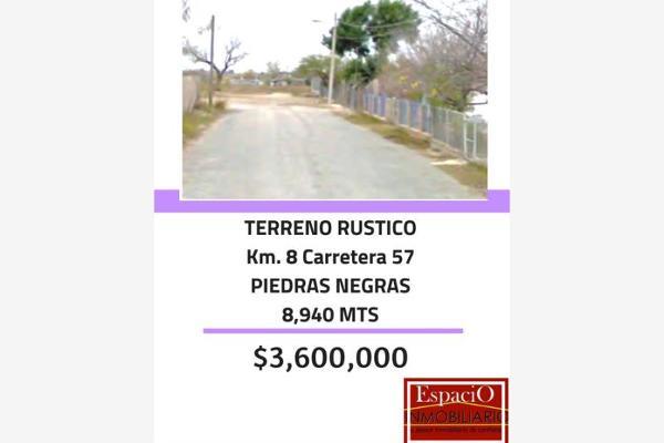 Foto de terreno habitacional en venta en s/n , villa de fuente, piedras negras, coahuila de zaragoza, 9971183 No. 01