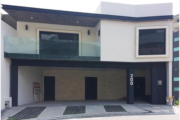 Foto de casa en venta en s/n , vista real, san pedro garza garcía, nuevo león, 9961818 No. 01