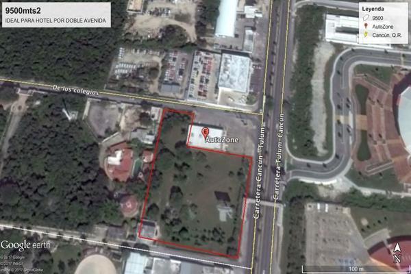 Foto de terreno habitacional en venta en sobre boulevard luis donaldo colosio , región 97, benito juárez, quintana roo, 0 No. 02