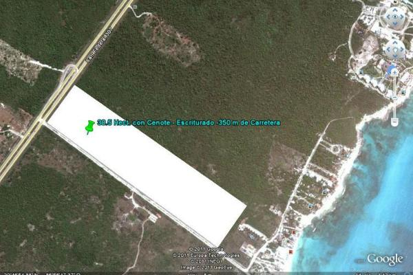Foto de terreno habitacional en venta en  , solidaridad, solidaridad, quintana roo, 7866802 No. 03