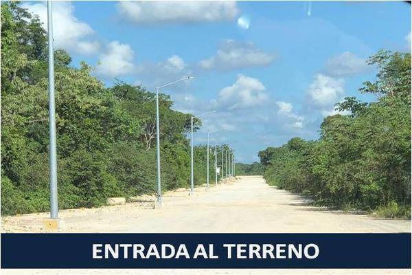 Foto de terreno habitacional en venta en  , solidaridad, solidaridad, quintana roo, 7144584 No. 01