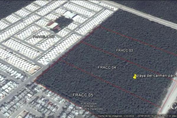 Foto de terreno habitacional en venta en  , solidaridad, solidaridad, quintana roo, 7960906 No. 07