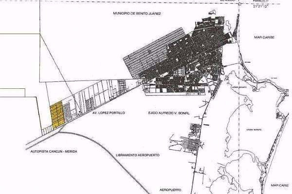 Foto de terreno habitacional en venta en  , supermanzana 9, benito juárez, quintana roo, 7860367 No. 02