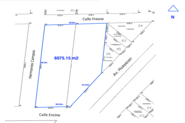 Foto de terreno habitacional en venta en  , supermanzana 4 centro, benito juárez, quintana roo, 10059292 No. 02