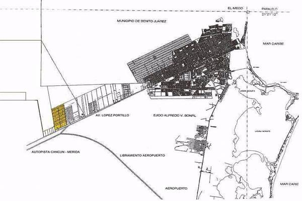 Foto de terreno habitacional en venta en  , supermanzana 52, benito juárez, quintana roo, 7860367 No. 02