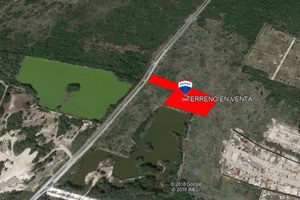 Foto de terreno habitacional en venta en tablaje 20132 , cholul, mérida, yucatán, 8149669 No. 02
