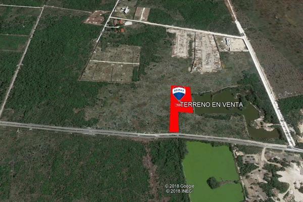 Foto de terreno habitacional en venta en tablaje 20132 , cholul, mérida, yucatán, 8149669 No. 04