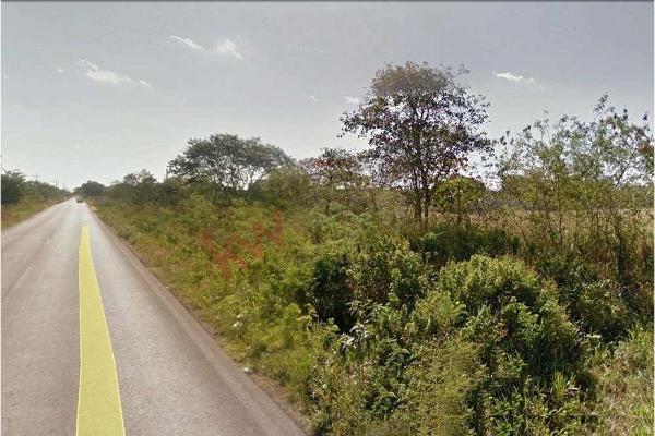 Foto de terreno habitacional en venta en  , tahdzibichén, mérida, yucatán, 0 No. 06