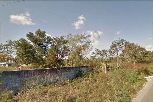 Foto de terreno habitacional en venta en  , tahdzibichén, mérida, yucatán, 0 No. 07