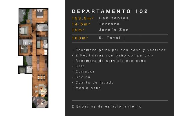 Foto de departamento en venta en taine , polanco v sección, miguel hidalgo, df / cdmx, 5907397 No. 10