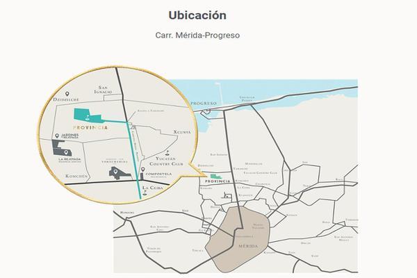 Foto de terreno habitacional en venta en  , tamanché, mérida, yucatán, 9229075 No. 08