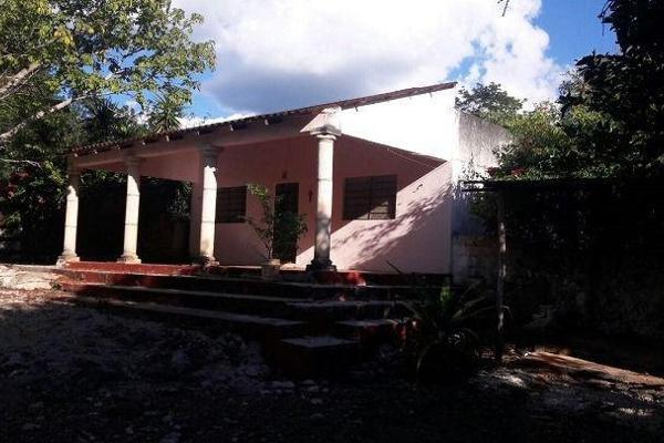 Foto de terreno habitacional en venta en  , teabo, teabo, yucatán, 7991413 No. 01