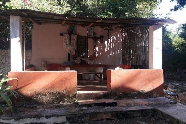 Foto de terreno habitacional en venta en  , teabo, teabo, yucatán, 7991413 No. 10
