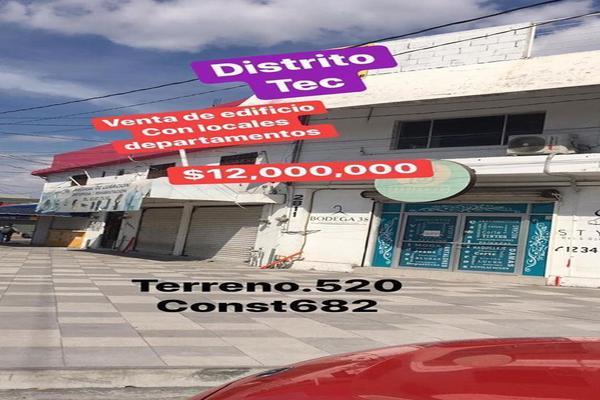 Foto de edificio en venta en  , tecnológico, monterrey, nuevo león, 14348584 No. 01