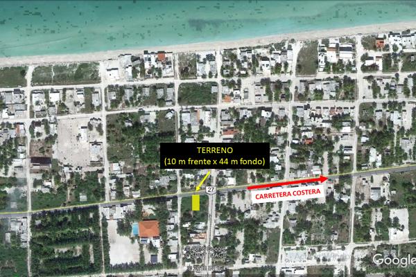 Foto de terreno habitacional en venta en  , telchac puerto, telchac puerto, yucatán, 14028307 No. 01