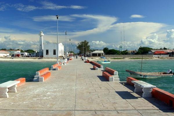 Foto de terreno habitacional en venta en  , telchac puerto, telchac puerto, yucatán, 14028307 No. 04