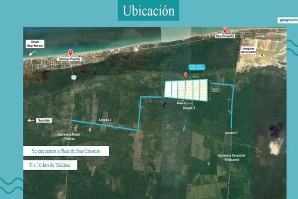 Foto de terreno habitacional en venta en  , telchac puerto, telchac puerto, yucatán, 8091902 No. 02