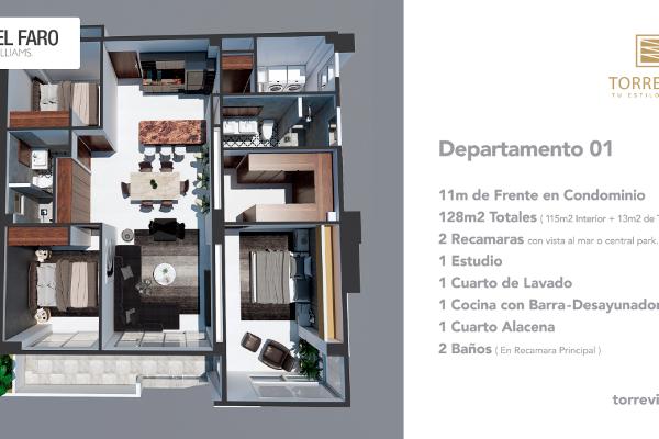 Foto de departamento en venta en  , telleria, mazatlán, sinaloa, 6204685 No. 08