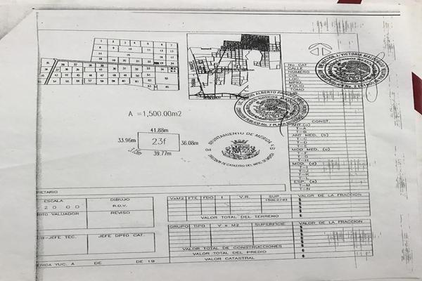 Foto de terreno habitacional en venta en  , temozon norte, mérida, yucatán, 14038792 No. 03