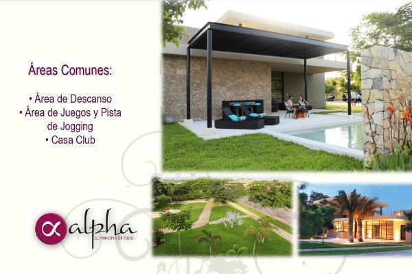 Foto de terreno habitacional en venta en  , temozon norte, mérida, yucatán, 14038804 No. 04