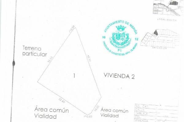 Foto de terreno habitacional en venta en  , temozon norte, mérida, yucatán, 14038804 No. 07