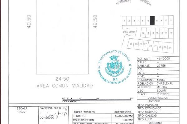 Foto de terreno habitacional en venta en  , temozon norte, mérida, yucatán, 14038832 No. 03
