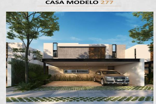 Foto de casa en venta en  , temozon norte, mérida, yucatán, 18365715 No. 01
