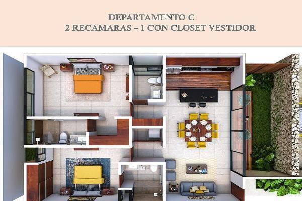 Foto de departamento en venta en  , temozon norte, mérida, yucatán, 5675426 No. 08