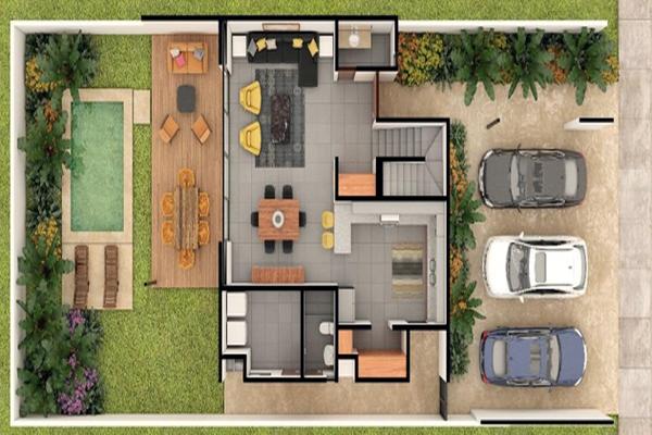 Foto de casa en venta en  , temozon norte, mérida, yucatán, 5975260 No. 06