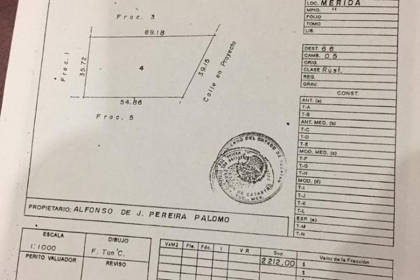 Foto de terreno habitacional en venta en  , temozon norte, mérida, yucatán, 6164364 No. 01