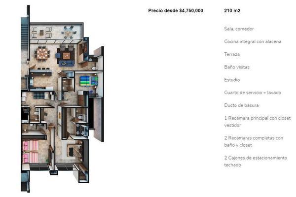 Foto de departamento en venta en  , temozon norte, mérida, yucatán, 7518310 No. 02